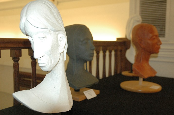 Sculpture by Paul Walter at 'Tis Art Gallery.; Sculptures by Paul Walter at 'Tis Art Gallery.  (Jason Wheeler/Courier)