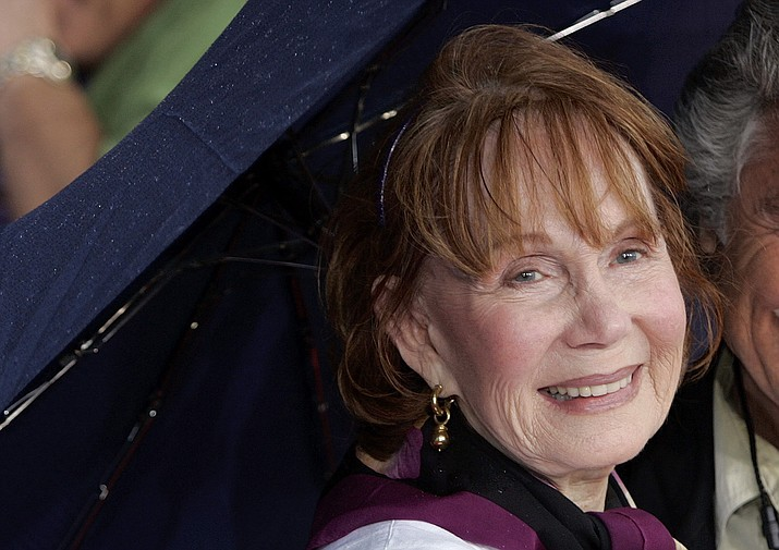 """In this May 26, 2006, file photo, Katherine Helmond arrives for the premiere of the Disney/Pixar animated film """"Cars"""" at Lowe's Motor Speedway in Concord, N.C. Helmond, best known as the grandmother who was hot for housekeeper Tony Danza on """"Who's The Boss,"""" died last Saturday, Feb. 23, 2019, of complications from Alzheimer's disease at her home in Los Angeles, her talent agency APA announced Friday, March 1, 2019. She was 89. (Chuck Burton/AP, File)"""