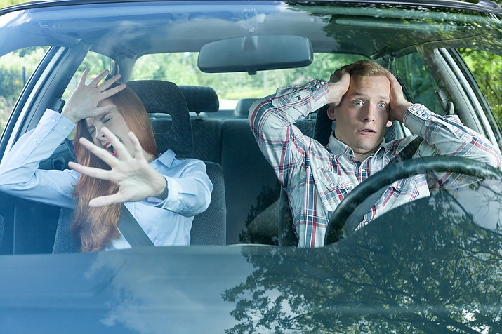 Being a backseat driver may be a curse. (Adobe Images)