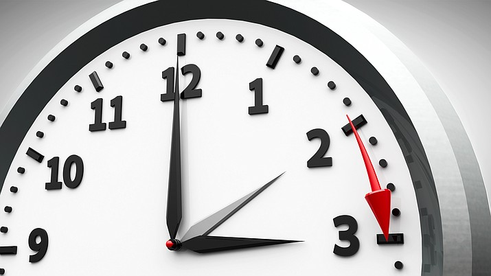 When do the clocks spring forward? For much of the country, Daylight Saving Time 2019 begins at 2 a.m. local time on Sunday, March 10. (Courier stock photo)