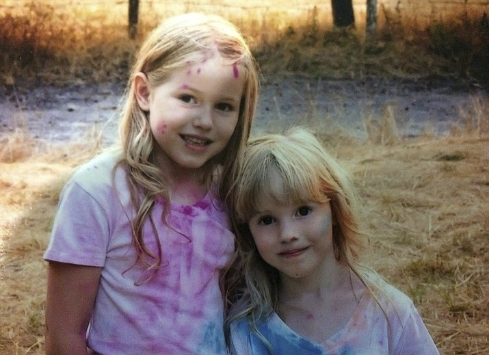 More than 100 law enforcement personnel were searching for the two young sisters, Leia Carrico, 8, left, and Caroline Carrico, 5, who had been missing from their Northern California home since Friday, March 1, 2019. They were last seen around 2:30 p.m. Friday outside their home in Benbow, a small community about 200 miles northwest of Sacramento. They were found safe by rescuers on Sunday. (Humboldt County Sheriff's Office via AP)