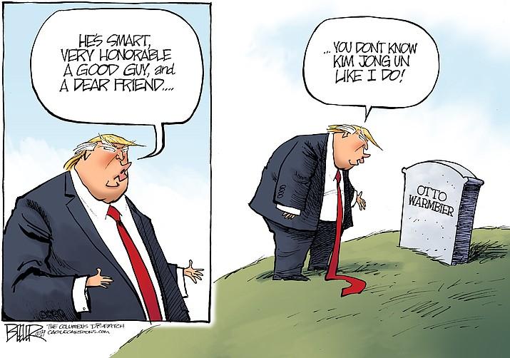 Editorial cartoon (1): March 5, 2019