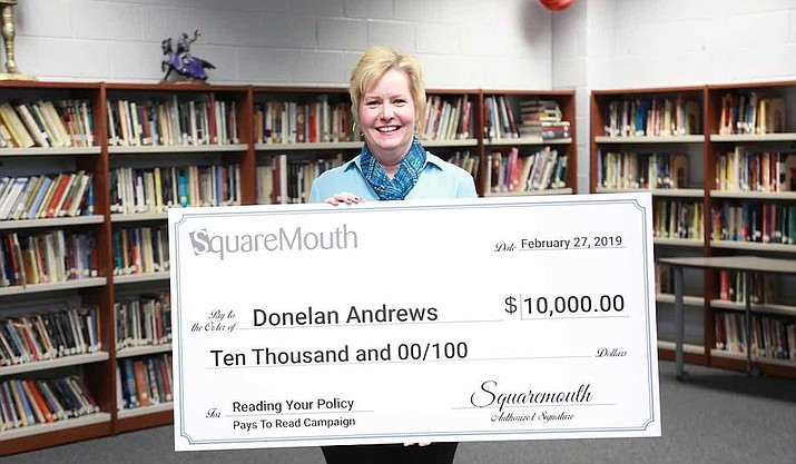 Georgia high school teacher Donelan Andrews received $10,000 from a travel insurance company for reading the fine print in a policy she recently purchased. The Florida-based company launched the secret contest Feb. 11. Buried in the fine print was a promise of $10,000 for the first person to send an email to a specific address. (Squaremouth)