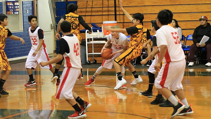 Grand Canyon Middle School basketball on track
