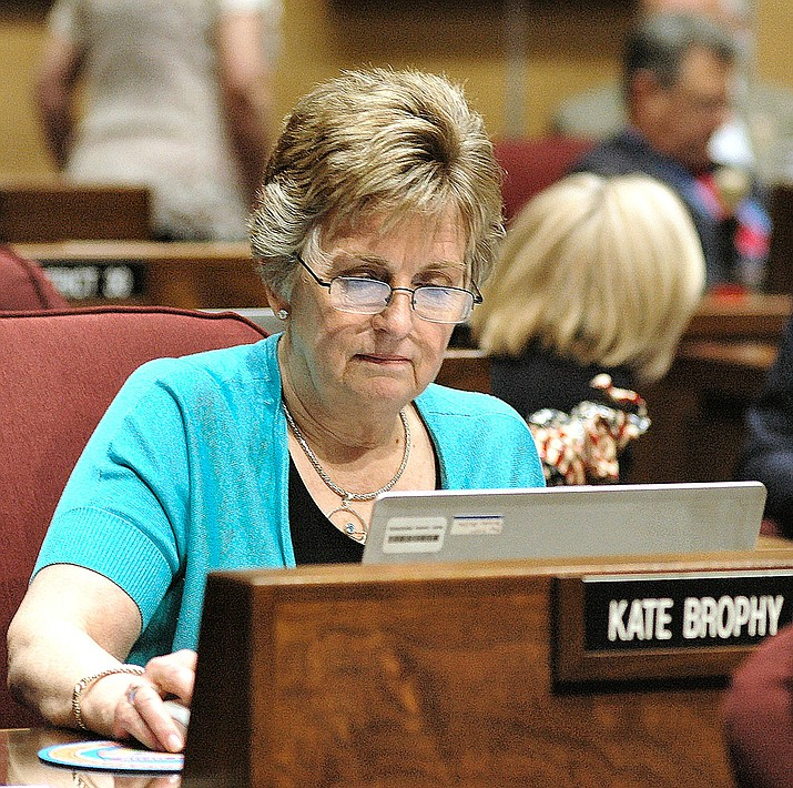 "Sen. Kate Brophy McGee says the issue of drivers distracted by using their phone is a ""public health crisis."" (Howard Fischer/Capitol Media Services file)"