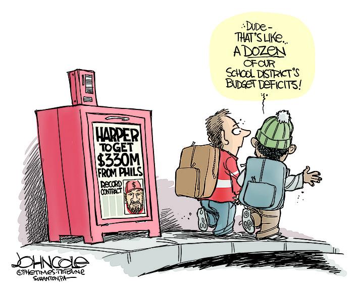 Editorial Cartoon   March 7, 2019