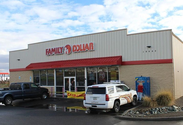 The Family Dollar in Cordes Junction. Nearly 400 Family Dollar stores will close in 2019, but the discount retail company is not yet sharing which stores will or may close soon. (YCSO/Courtesy, file)