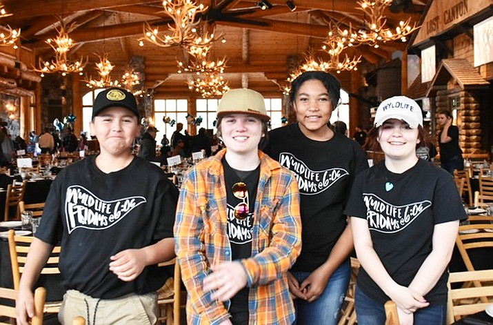 Young Life members attend and help out at the 14th annual Williams Young Life steak dinner and auction March 3. (Photo courtesy of Young Life)