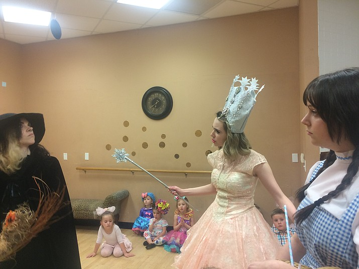 """""""The Wizard of Oz"""" is showing this weekend at the Elks Theatre and Performing Arts Center, 117 E. Gurley St., produced by One Stage Family Theatre. www.prescottelkstheater.com or 928-777-1370. (Jason Wheeler/Courier)"""