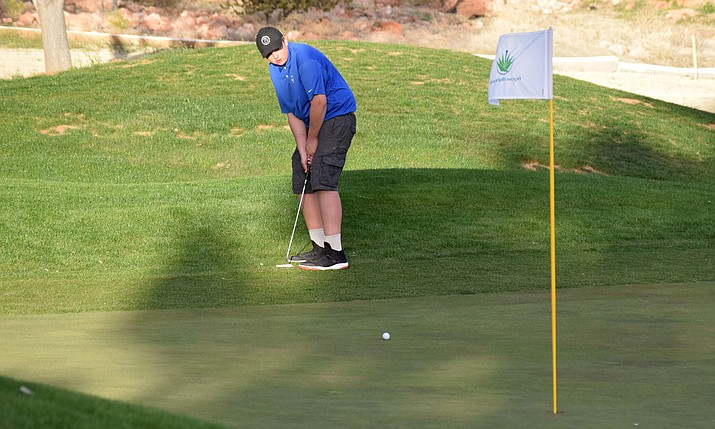 Camp Verde golf hosted Bagdad, Chino Valley and Northland Prep at Agave Highlands the on Thursday afternoon. Photos: VVN/James Kelley