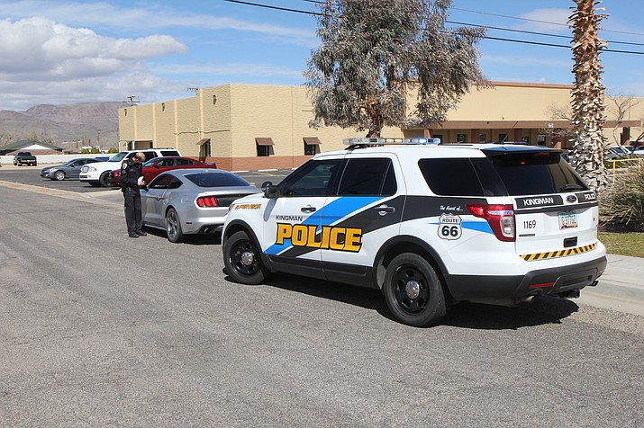 "Under the direction of Chief Bob DeVries, Kingman Police Department officers have the discretion to issue warnings as opposed to tickets when it comes to violations of the City's hands-free ordinance, turning those situation into ""teaching moments."" (Photo courtesy KPD)"