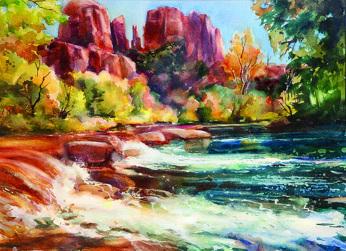 Betty Carr is emerging as one of the foremost painters of the southwest. Her use of color, light and shade accentuate her subject matter while showing her love of nature and its forms.