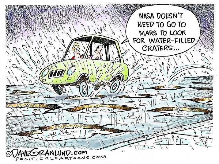 Editorial Cartoon: (2) March 12, 2019