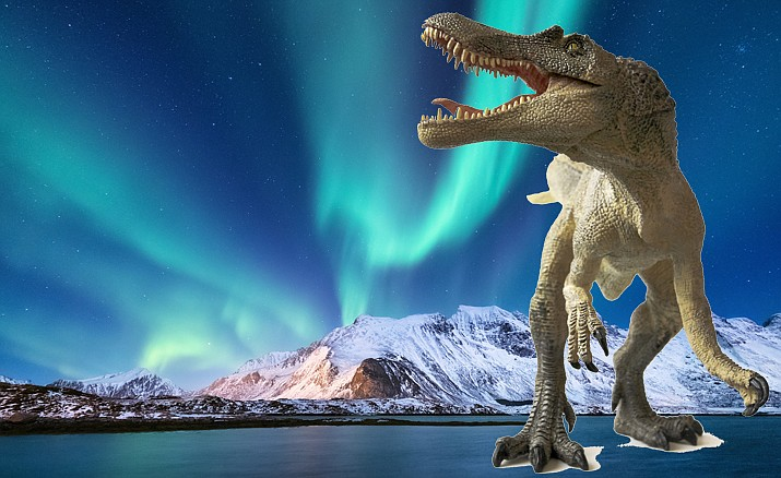 Geology Talks: Dinosaurs of Ancient Alaska, 6 to 8 p.m., Prescott Public Library