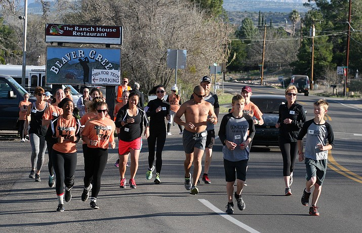 Rain or shine, Friends of the Beaver Creek Library will hold its sixth annual Trek for Tech 5K/10K fun run/walk on Saturday, March 23 at Rollins Park in Lake Montezuma. VVN/Bill Helm