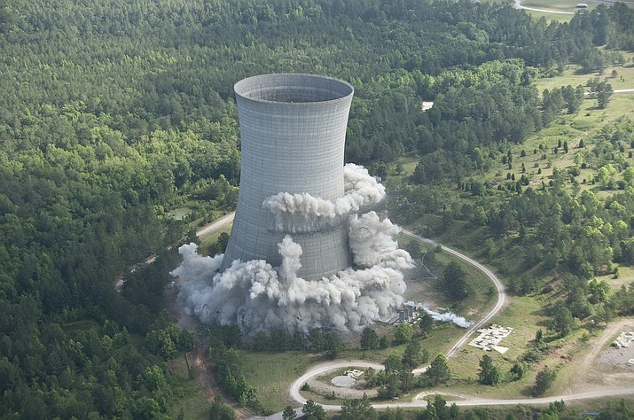 Savannah River – Demolition work done at Department of Energy's Savannah River, South Carolina site in 2010. A shipment of plutonium from this site passed through Kingman sometime in the recent past. (Department of Energy photo)