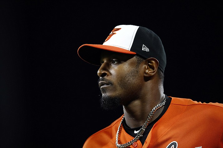 Outfielder Adam Jones agreed to a one-year contract with the Diamondbacks. (Patrick Semansky/AP, File)