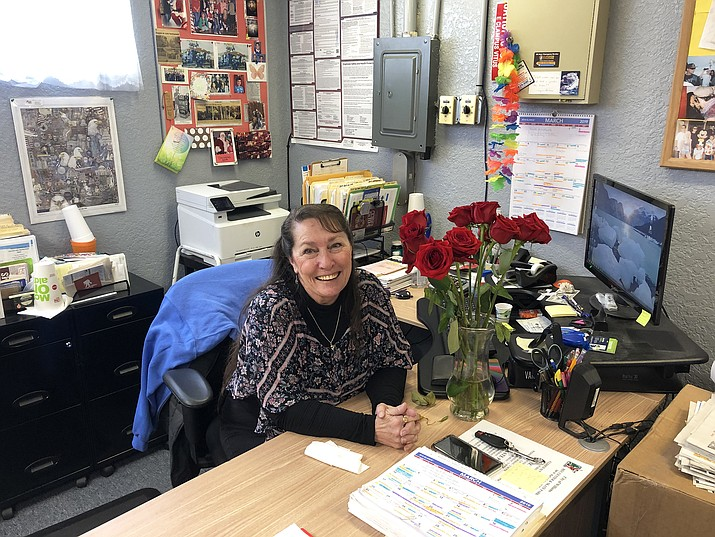 Rose Newbold is retiring as recreation director for the city of Williams. (Wendy Howell/WGCN)