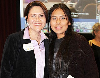 Hopi High's Amber Labahe wins state media writing contest