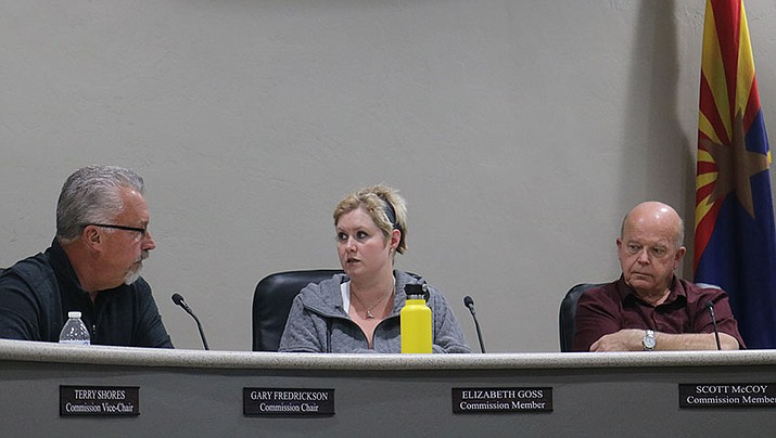 After a brief discussion at Tuesday's meeting, the City Planning and Zoning Commission voted unanimously to approve the conditional use permit. (Photo by Travis Rains/Daily Miner)