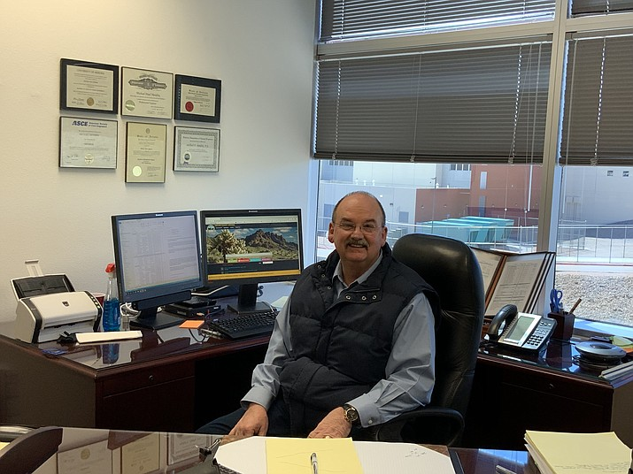 Mohave County Administrator Mike Hendrix said public defenders have resigned recently. One of which left to Coconino County which pays public defenders $23,000 more that Mohave County does. (Photo courtesy County Administrator's Office.)