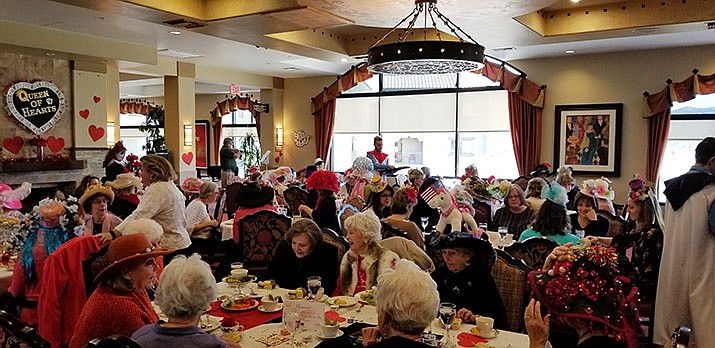 This year's Queen of Hearts Tea raised over $4,000, Prescott Meals on Wheels reported. (Courtesy)