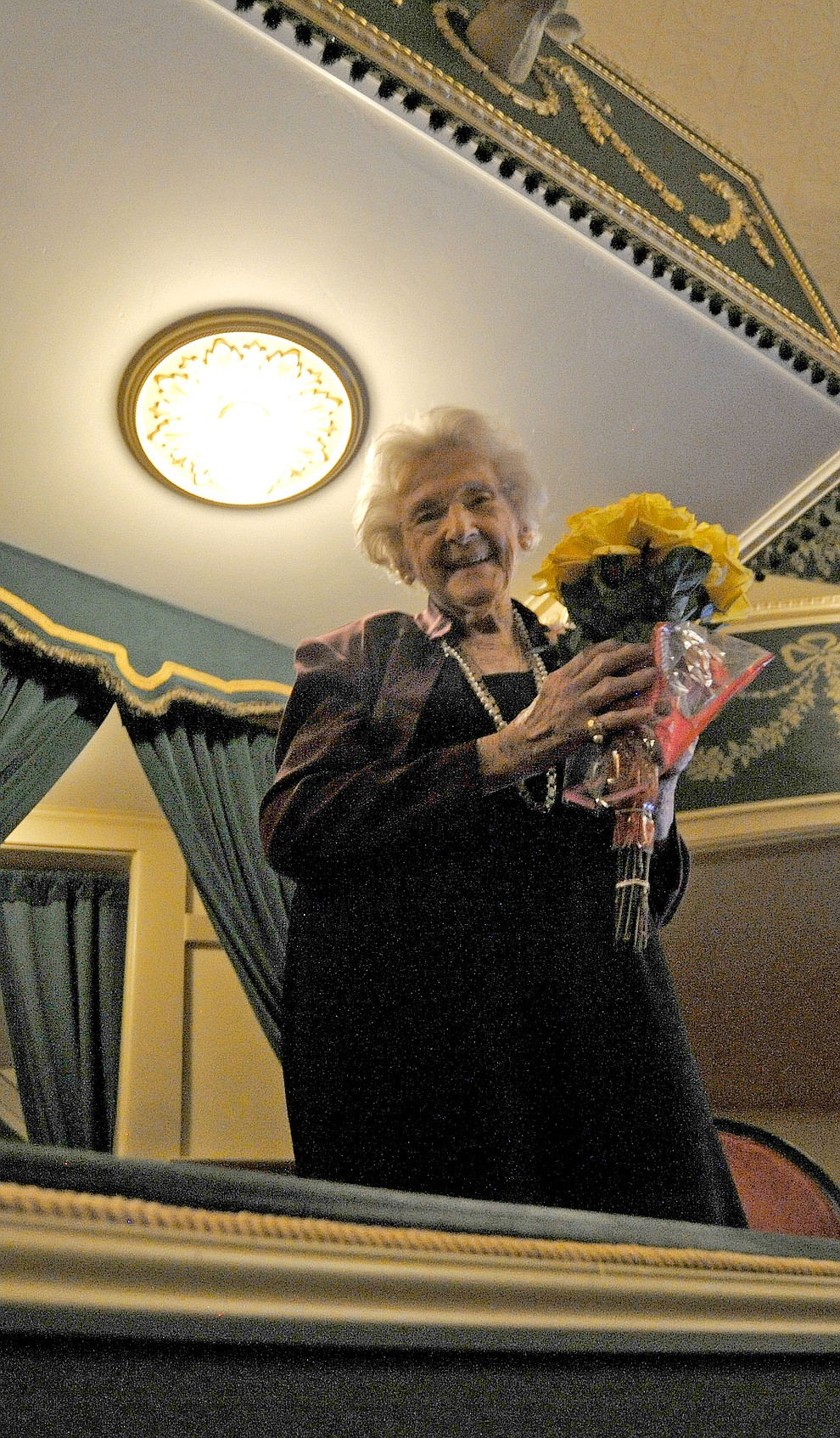 Elisabeth: A Celebration and a Tribute to Elisabeth Ruffner at the Elks Opera House in downtown Prescott March 19, 2015. (Courier file photo)