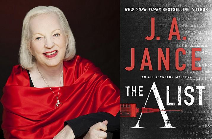 J.A. Jance. Photo by Mary Ann Halpin Studios