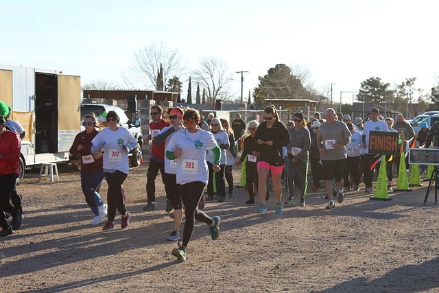 The fourth annual DIG It Dash Shamrock Run/Walk-5K is set for 8 a.m. Saturday, March 16, at DIG It Community Gardens, 2301 Lillie Ave. (DIG It Community Gardens photo)