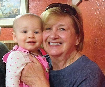 Joy Erickson was headed to the Phoenix airport to fly to California for a visit with her granddaughter, Ingrid, when she was struck and killed by a hit-and-run driver Dec. 22, 2014. (Courtesy photo)