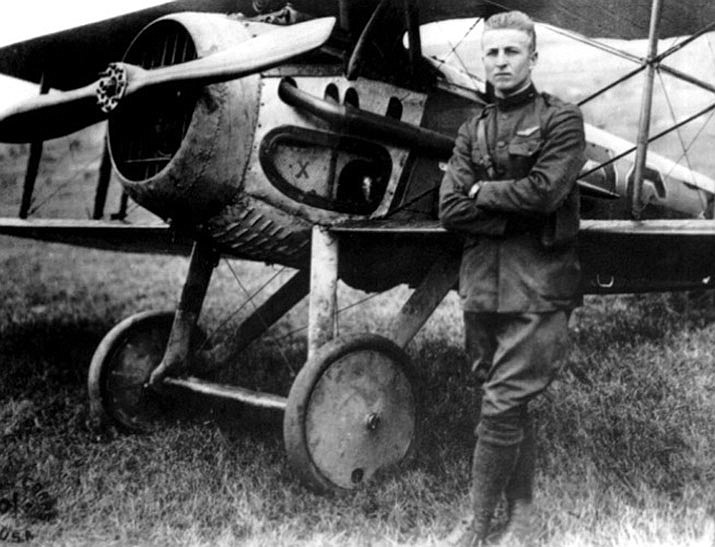 """""""Above & Beyond: Frank Luke"""" lecture presentation on daring Arizona WWI ace, awarded the Medal of Honor, but was tragically killed in action during the """"Great War,"""" 2 p.m., March 16 at Sharlot Hall Museum. Free."""
