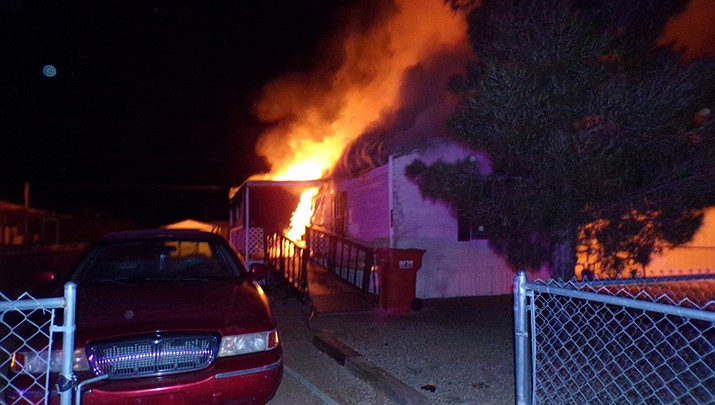 A structure fire in Butler leaves two dogs dead and occupants transported to hospital for smoke inhalation. (NACFD photo)