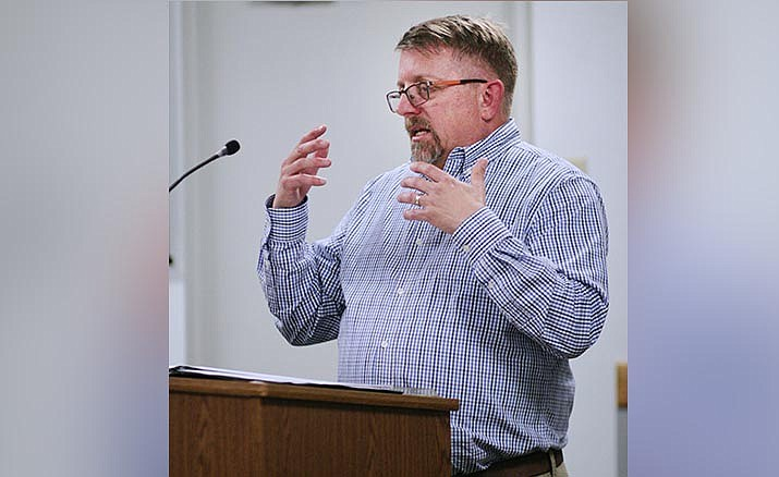 Camp Verde Parks and Recreation Division Manager Mike Marshall told council Wednesday that his department could use a full-time recreation leader to help the town run its signature events. VVN/Bill Helm