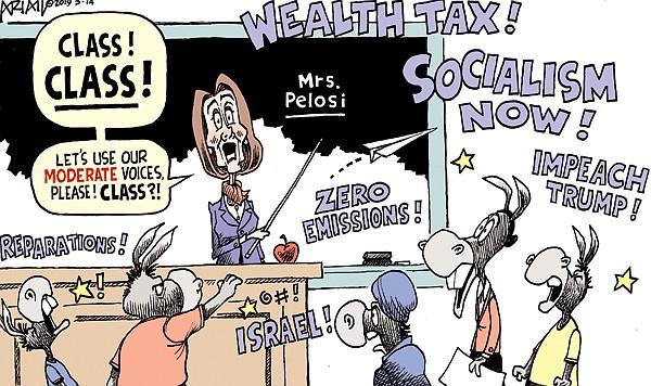 Editorial Cartoon 1: March  17, 2019