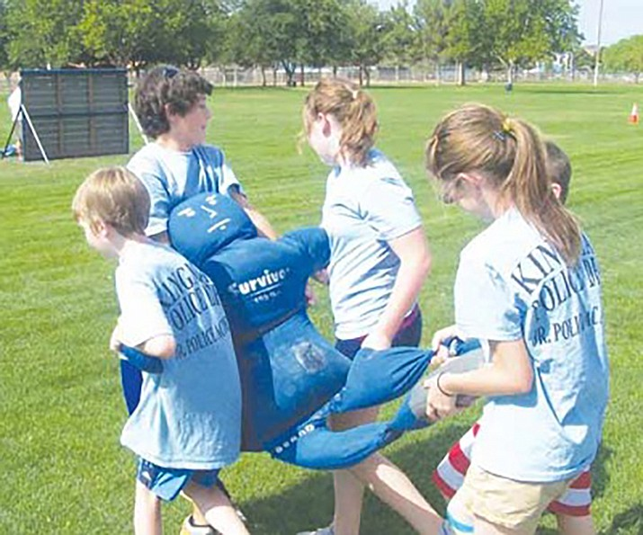 Deputy Chief Rusty Cooper said the Kingman Police Department hopes to bring back the Junior Police Academy in 2020. (Daily Miner file photo)