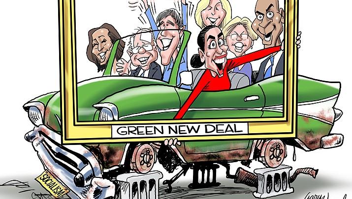 Editorial Cartoon 2: March  17, 2019