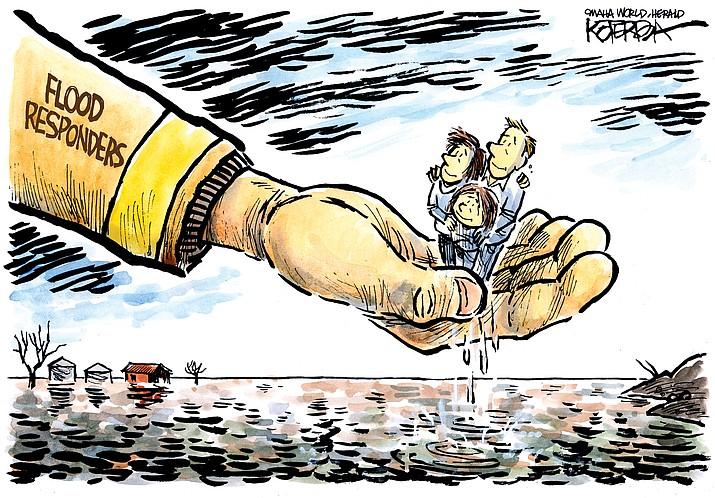 Editorial cartoon (1): March 18, 2019