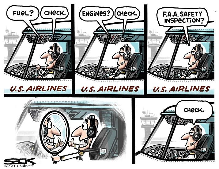 Editorial cartoon (2): March 18, 2019