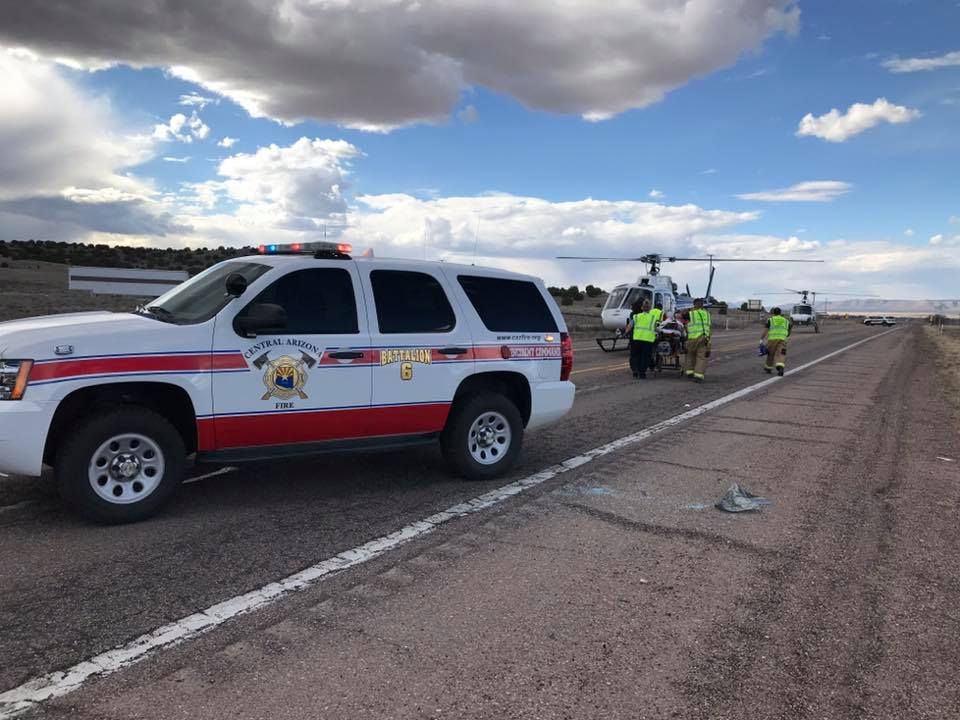 Update: 1 dead in Highway 89 crash north of Chino Valley | The Daily
