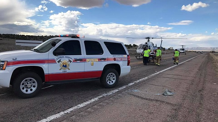 Update: 1 dead in Highway 89 crash north of Chino Valley