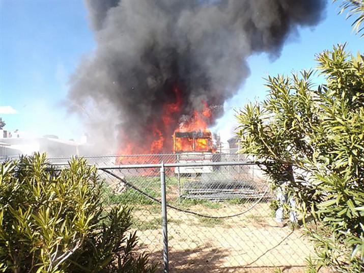 NACFD Quickly Extinguishes Sunday Blaze