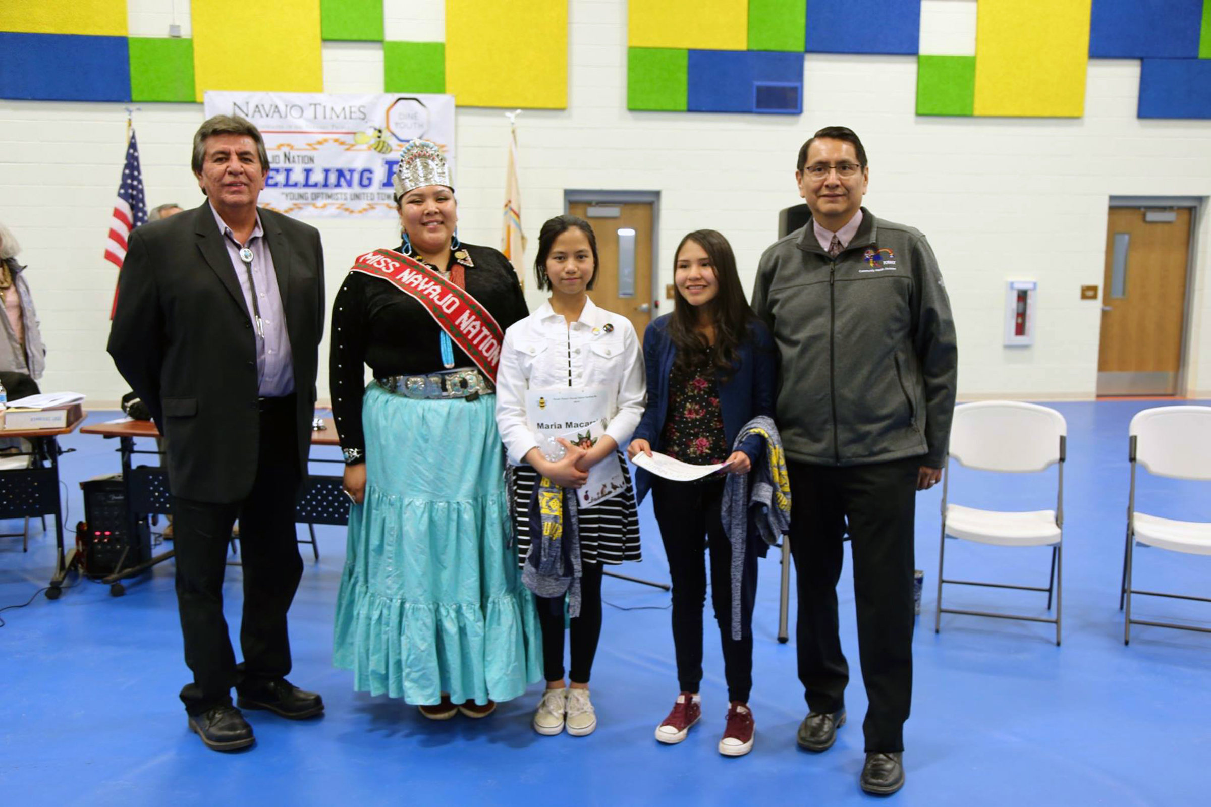 Tuba City student has a strong showing at Navajo Nation spelling bee