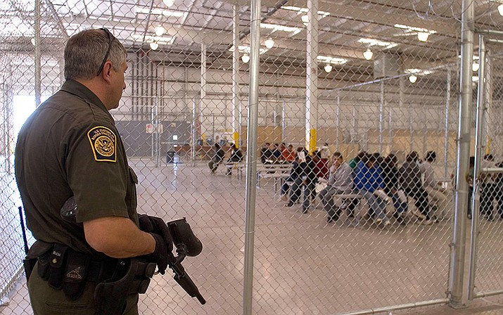The change has been introduced slowly, with an average of 40 people a week being returned to Tijuana from San Diego in the first six weeks. Mexico has agreed to accept up to 120 a week. (US Customs and Border Protection courtesy)