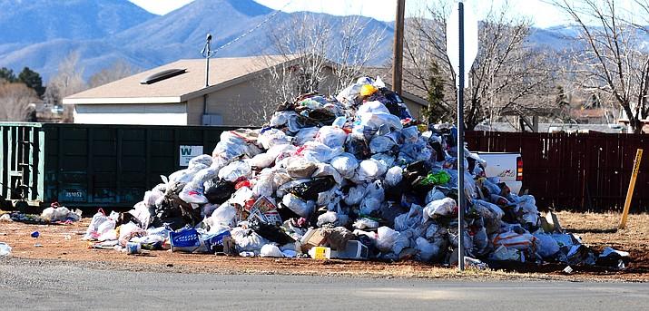 Prescott's spring curbside bulk-item collection begins March 25