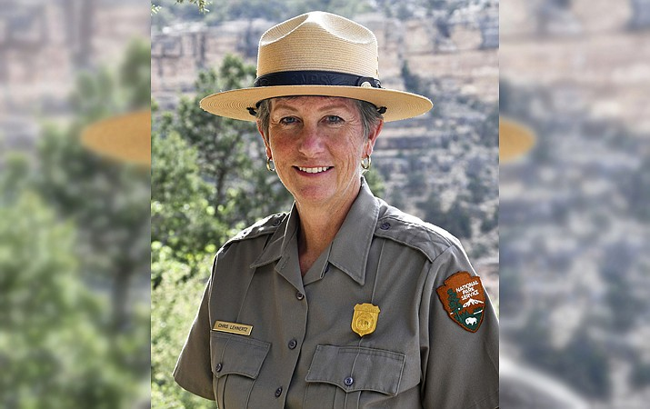 Grand Canyon Superintendent Chris Lehnertz announced her resignation, effective March 31. (Photo/NPS)