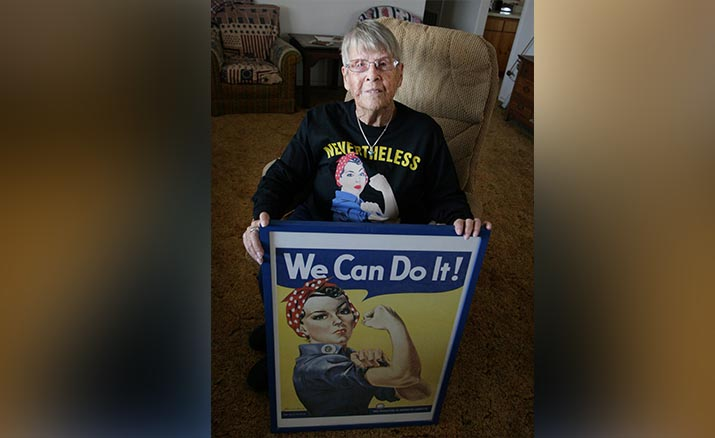 Camp Verde resident opens up about her time as Rosie the Riveter