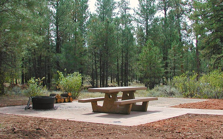 The proposed expansion to Ten X campground would increase capacity from the current 70 individual campsites to a total of 300 and upgrade current facilities within the campground's footprint. (Photo/Kaibab National Forest)