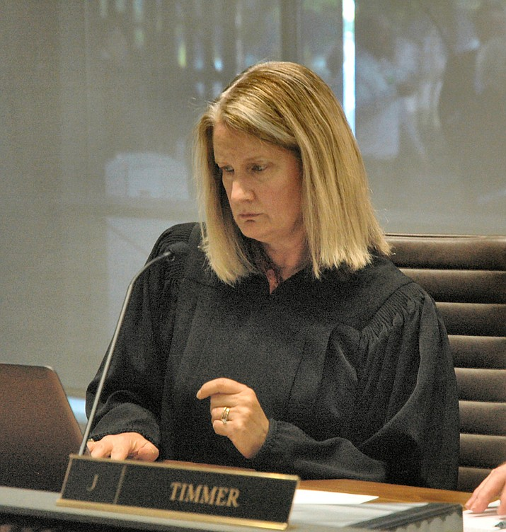 Justice Ann Scott Timmer during a break in arguments at the Arizona Supreme Court on Tuesday, March 19, 2019. (Howard Fischer/Capitol Media Services)