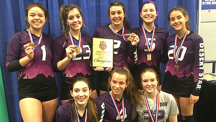 Top row from left: Kalyse Whitehead, Lorelei Fernandez, Ashley Sahawneh, Brianna Portillo and Madison Lewis. Bottom row from left: Isabel Anderson, Lynsey Day and Lanae Burgess. Not pictured: Kyla Romeo and Mollie King. (Courtesy)