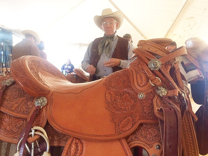 Paulden saddle maker brings work to Cattleman's Weekend